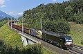 Foto zeigt: Brennerbahn-Umleitung via Tauernbahn hat begonnen!