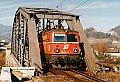 Foto zeigt: 1042.517, Lz 11514, Bruck an der Mur - Schleifengleis, 06.02.1998