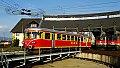 Foto zeigt: MBS ET 10.104  Parade, PR Knittelfeld (Drehscheibe)