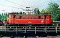 Foto zeigt: ÖBB 1245.518: Typenfoto auf Drehscheibe, Zugförderungsleitung Villach Westbhf 1990