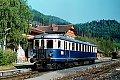 Foto zeigt: 5044.21 bei der Wende im Bhf Neuberg (Neuberger Bahn), 13.05.1986