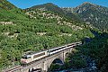 Foto zeigt: SNCF BB7301 mit Nachtzug IC 3971 Paris - Latour de Carol, bei Porta / Transpyrenäenstrecke