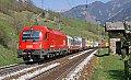 Foto zeigt: 1216.130, RoLa 43255, Bad Hofgastein (Tauernbahn), 19.04.2007
