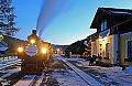 Foto zeigt: 298.56, Stille Nacht-Winterdampfsonderzug, Mauterndorf (Taurachbahn)