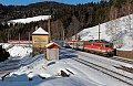Foto zeigt: 1142.627 mit EuroCity 158 bei Breitenstein