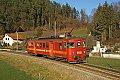 Foto zeigt: StLB ET 15, R 8770, Deutschfeistritz (Übelbacher Bahn), 28.12.2018