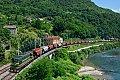 Foto zeigt: SZ 661.032 mit Güterzug, Hrastnik an der Save (Strecke Spielfeld – Triest)