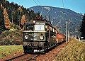 Foto zeigt: 1042.508 mit Personenzug, Selzthal - Rottenmann (Rudolfsbahn), 03.11.1984