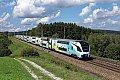 Foto zeigt: Westbahn 4110.014 und 4110.013 bei Pöndorf (Westbahnstrecke), 04.09.2017