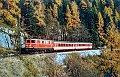 am Foto: 1141.06 mit P 3429 bei Obertraun (Salzkammergutstrecke) 10.11.1983