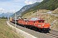Foto zeigt: 1020.018 + 1044.040, Sbl. Kolbnitz 1 (Tauernbahn)