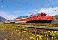 Foto zeigt: Mit dem Gastein-Express über die Tauernbahn