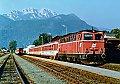 Foto zeigt: 2043.071 mit R 4834 im Bhf Hermagor (Gailtalbahn), 04.08.1990