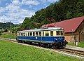 Foto zeigt: 4042.01 beim Übelbacherbahn-Jubiläum