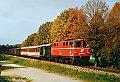am Foto: 2095.008 mit Gmp 71735 bei Vogelsang (Ybbstalbahn), 14.10.1985