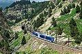 Foto zeigt: Eisenbahn in den Pyrenäen