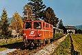 Foto zeigt: 2095.02 mit R 5088 in Fürth - Kaprun (Pinzgauer Lokalbahn), 18.10.1986