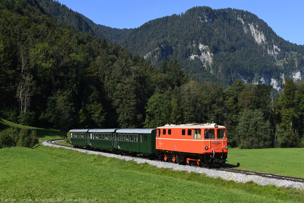 2095 13 Bei Reuthe Auf Der Bregenzerwaldbahn, Auch