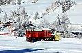 Foto zeigt: Starke Schneefälle in Osttirol erfordern Streckensperre