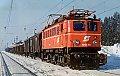 Foto zeigt: Winteraufnahmen der ÖBB Rh 1040