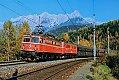 Foto zeigt: 1042.606 mit ÖBB-Flügelrad & 1010.05 an einem goldenen Herbsttag bei Bihofen