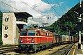 am Foto: 1042.668 mit Flügelrädern, G 53703, Bruck an der Mur (Südbahn), 10.10.1998