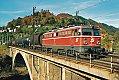 Foto zeigt:1042.670 mit G 57505 auf der Murbrücke bei Bruck an der Mur (Südbahn 1999)