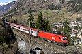 """Foto zeigt: """"Blauer Enzian"""" am Steinbach-Viadukt (Tauernbahn)"""