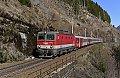 Foto zeigt: 1144.216 mit InterCity bei Bad Gastein (Tauernbahn)