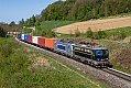 Foto zeigt: 1142.579 + METRANS 383.406, TEC 42409, Kremsmünster (Pyhrnbahn), 22.04.2020