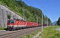 Foto zeigt: 3-Spanner vor Kohlenganzzug in Kolbnitz (Tauernbahn)
