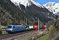 Foto zeigt: 1216.920 + 193.744, TEC 40531, Mallnitz-Hintertal