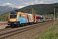 Foto zeigt: 1116.229 - neue Werbelok wirbt für Steinbach