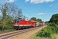 Foto zeigt: Kamelbuckel-REX zwischen Wien und  St. Pölten