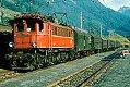 Foto zeigt: 1245.510 mit Personenzug im Bahnhof Vordernberg (Erzbergbahn 1978)