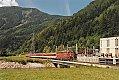 am Foto: 2043.065 mit R 4647 bei Möllbrücke (Drautalstrecke), 20.08.1987
