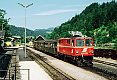 am Foto: 2095.009, Personenzug, Lunz am See (Ybbstalbahn), 29.07.1986