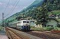 Foto zeigt: DB 111.039, Ex 291 Akropolis, Bf Kolbnitz (Tauernbahn), 08.09.1977