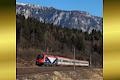 Foto zeigt: FUC 190.302, REX 1821, Thörl Maglern (Rudolfsbahn), 08.02.2020