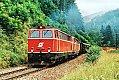 Foto zeigt: 2043.09 + 2043.11 vor Güterzug bei Taxwirt (Obdacher Sattel), 28.07.1982