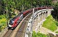 Foto zeigt: 1116.200 am Gamperlgraben-Viadukt (Semmering)