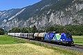 """am Foto: 1116.276 """"25 Jahre Österreich in EU"""", Silz (Arlbergbahn)"""