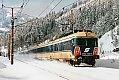 Foto zeigt: ÖBB 4010.005 als Expresszug 136 Carinthia am Weg zum Semmering (1987)