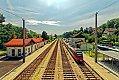 Foto zeigt: High Noon mit 4024.022, S 40 Wien Fjbf - Tullnerfeld, Bahnhof Kritzendorf (Fjb)