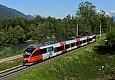 "am Foto: 4024.048 ""TUI-Werbung"", SB 4806, St. Stefan-Vorderberg mit Gail-Fluss (Gailtalbahn 2020)"