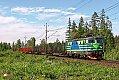 am Foto: Tagab Rc2 008 (ex 1043.008), G 48100, Hasselfors - Laxa (Schweden), 13.06.2011