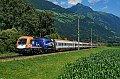 Foto zeigt:1116.199: Werbelok: 60 Jahre Roco mit IC 533 bei Greifenburg-Weißensee