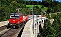 Foto zeigt: Messzug auf der Semmeringbahn