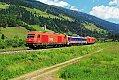 am Foto: 2016.054 + 2016.055, mit Messzug im Pustertalbahn