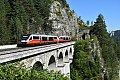 am Foto: 5022-Doppel, Breitenstein - Krauselklause (Semmeringbahn)